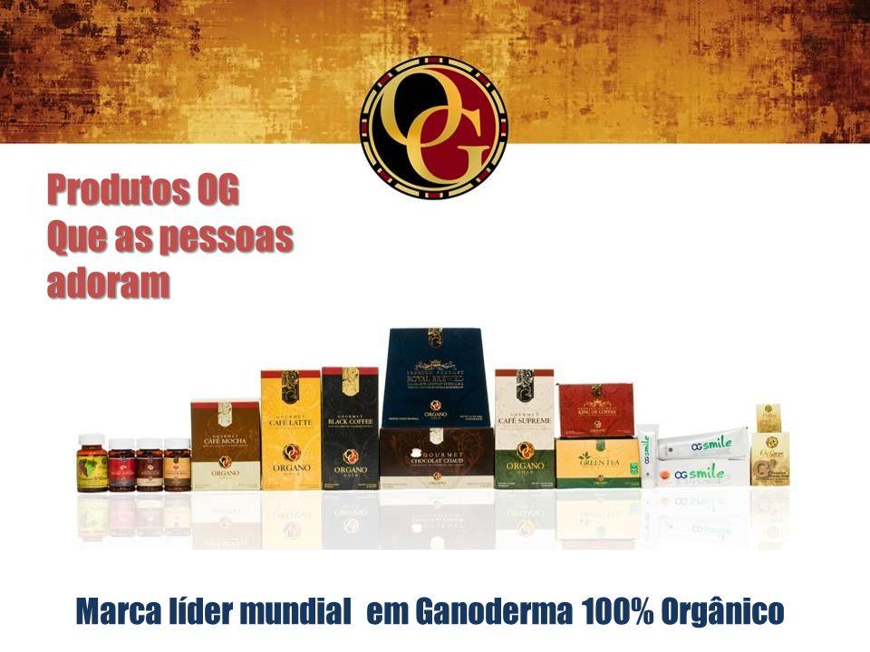 Marca líder mundial em Ganoderma 100% Orgânico