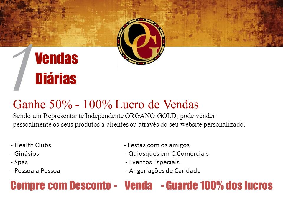 Compre com Desconto - Venda - Guarde 100% dos lucros