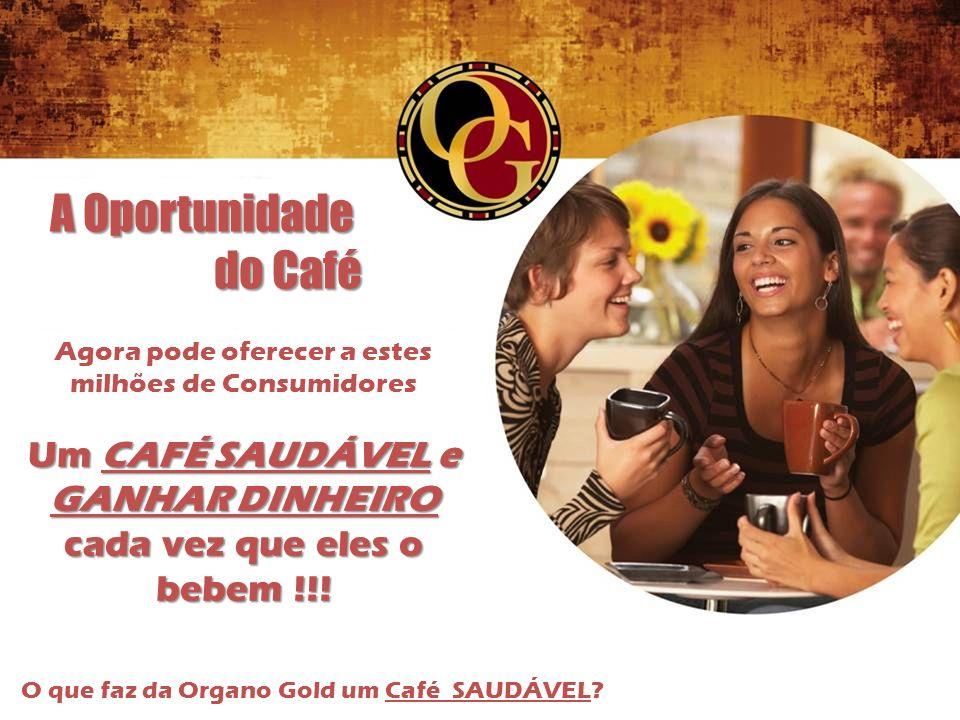 A Oportunidade do Café Um CAFÉ SAUDÁVEL e GANHAR DINHEIRO
