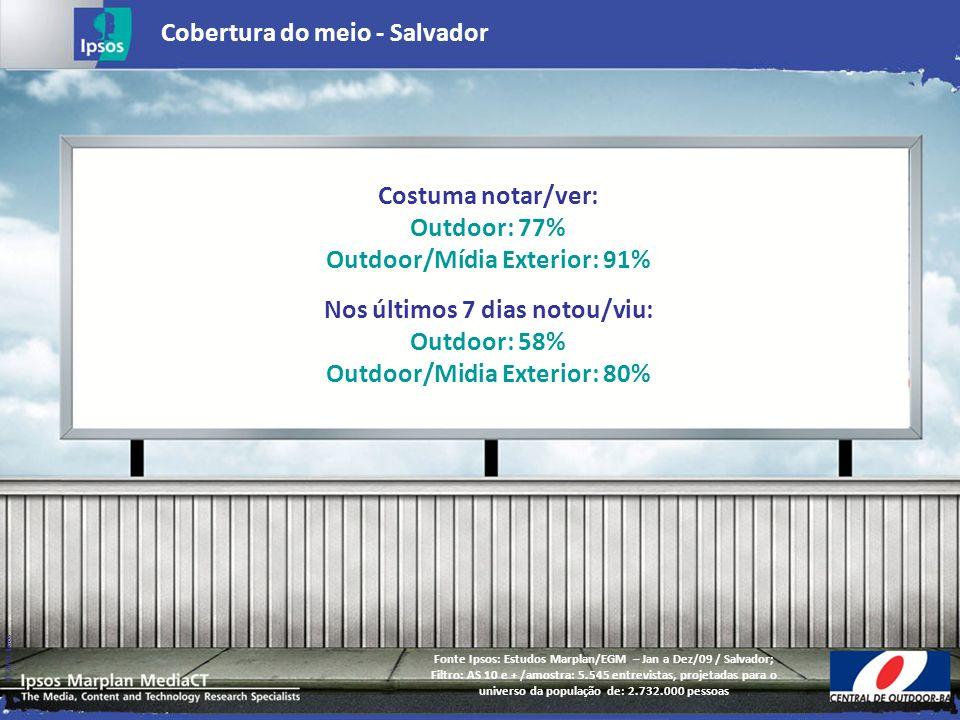 Cobertura do meio - Salvador