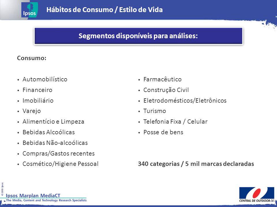 Hábitos de Consumo / Estilo de Vida