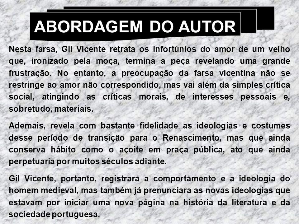 ABORDAGEM DO AUTOR