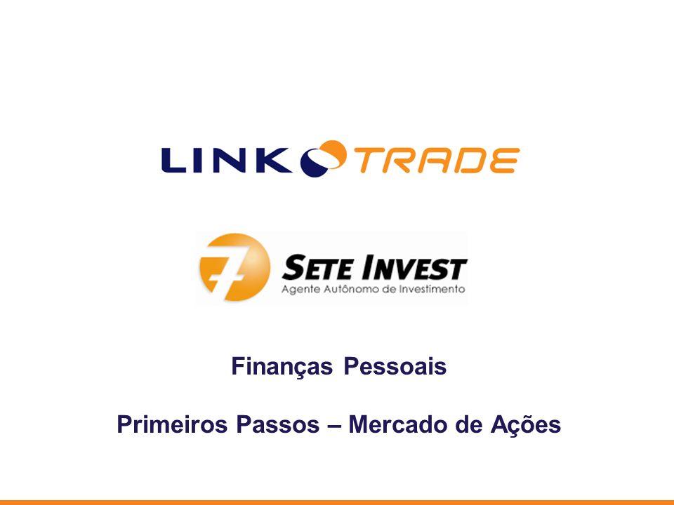 Finanças Pessoais Primeiros Passos – Mercado de Ações