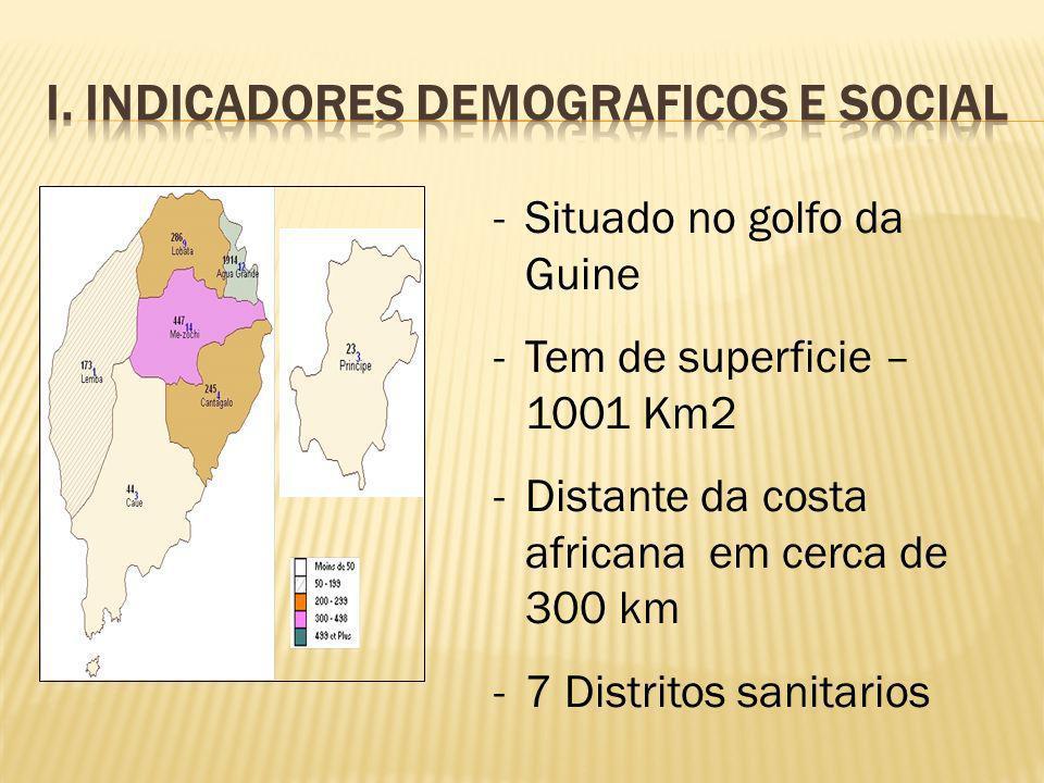 I. Indicadores demograficos e social