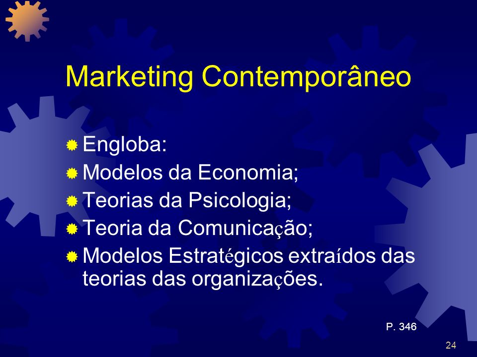 Marketing Contemporâneo