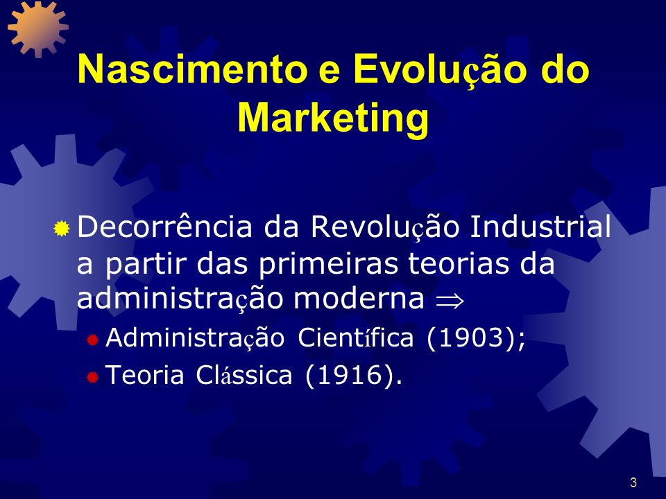 Nascimento e Evolução do Marketing