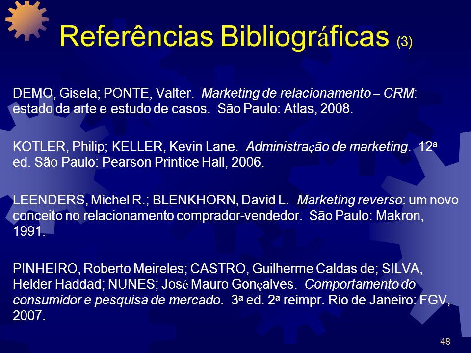 Referências Bibliográficas (3)