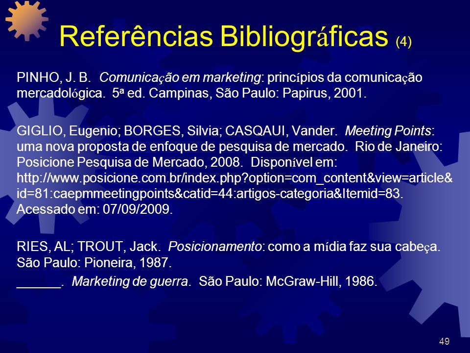 Referências Bibliográficas (4)