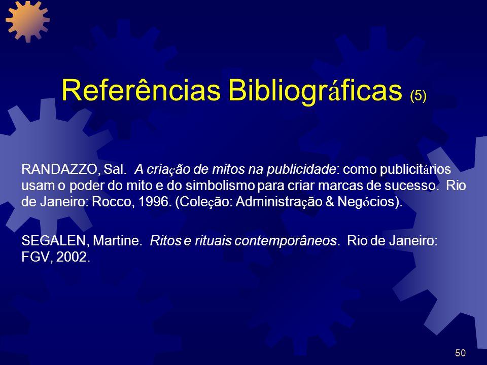 Referências Bibliográficas (5)