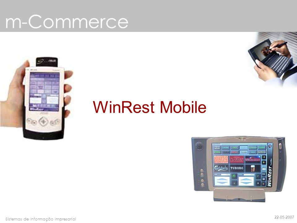 m-Commerce WinRest Mobile 22-05-2007
