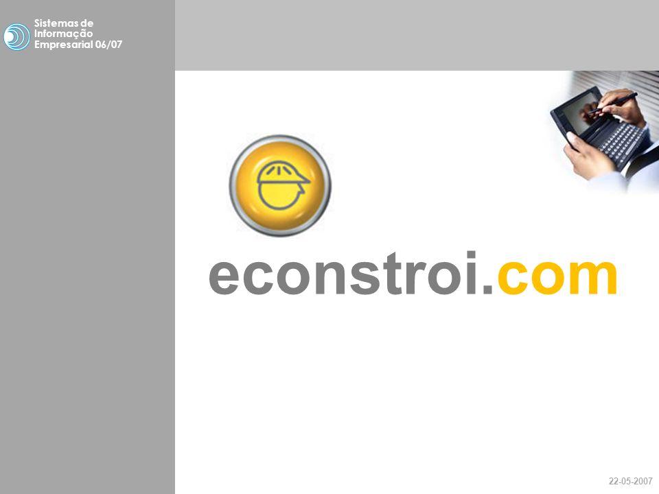 econstroi.com study case Sistemas de Informação Empresarial 06/07