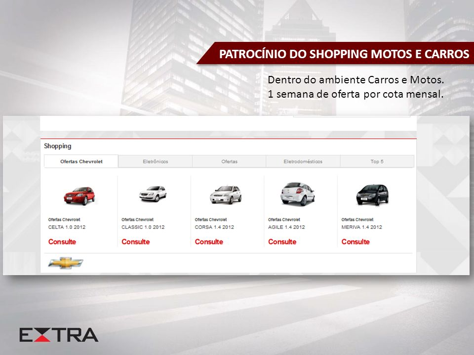 PATROCÍNIO DO SHOPPING MOTOS E CARROS
