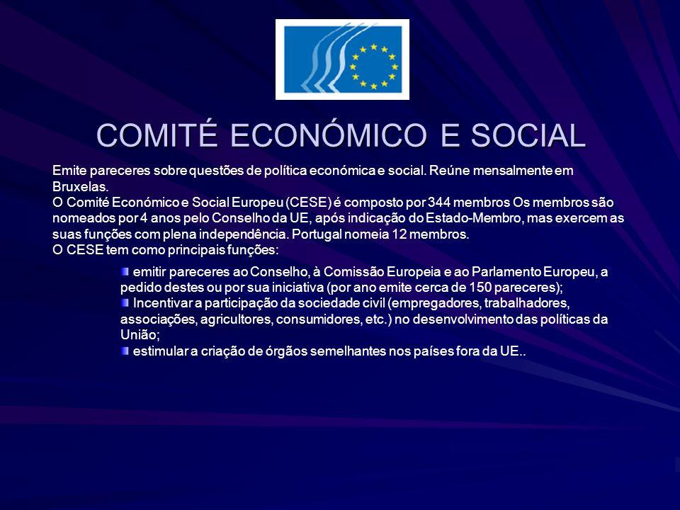 COMITÉ ECONÓMICO E SOCIAL
