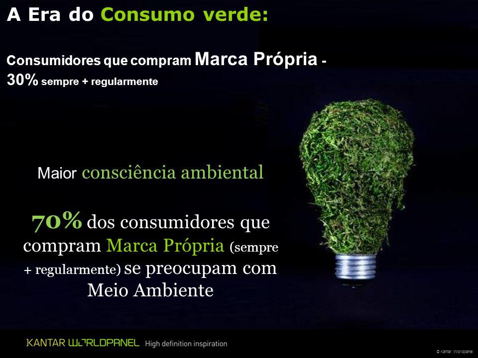 Maior consciência ambiental