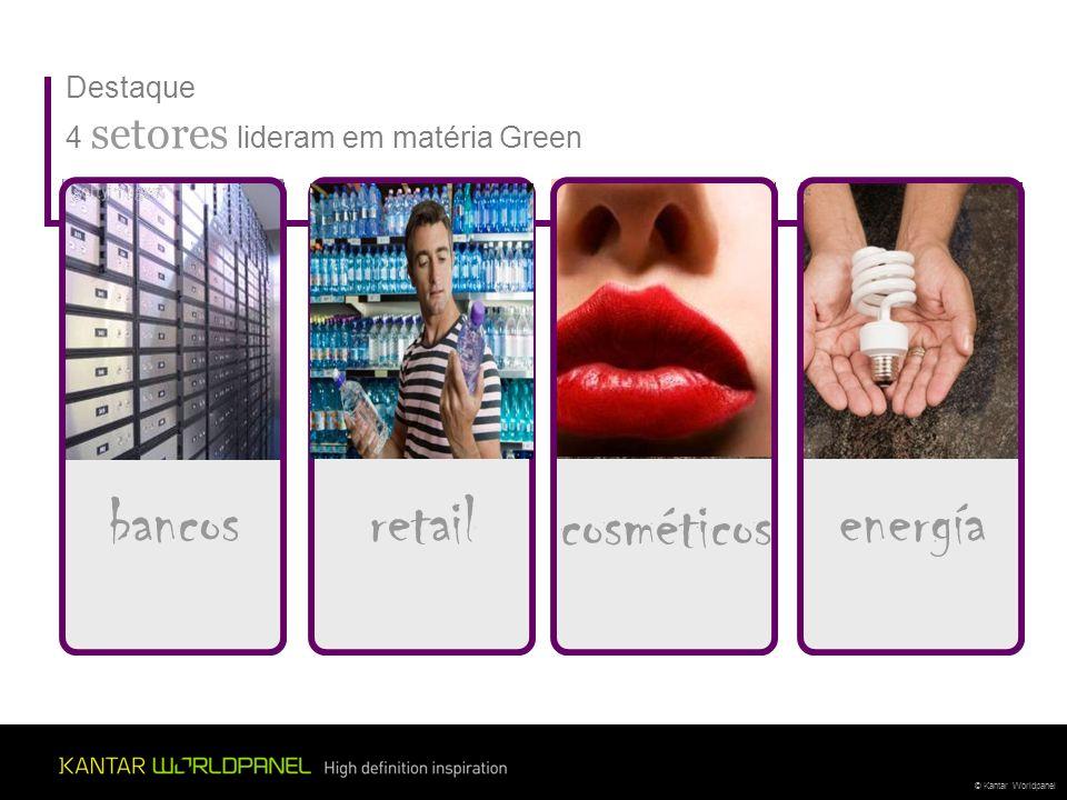 bancos retail cosméticos energía