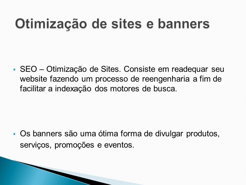Otimização de sites e banners