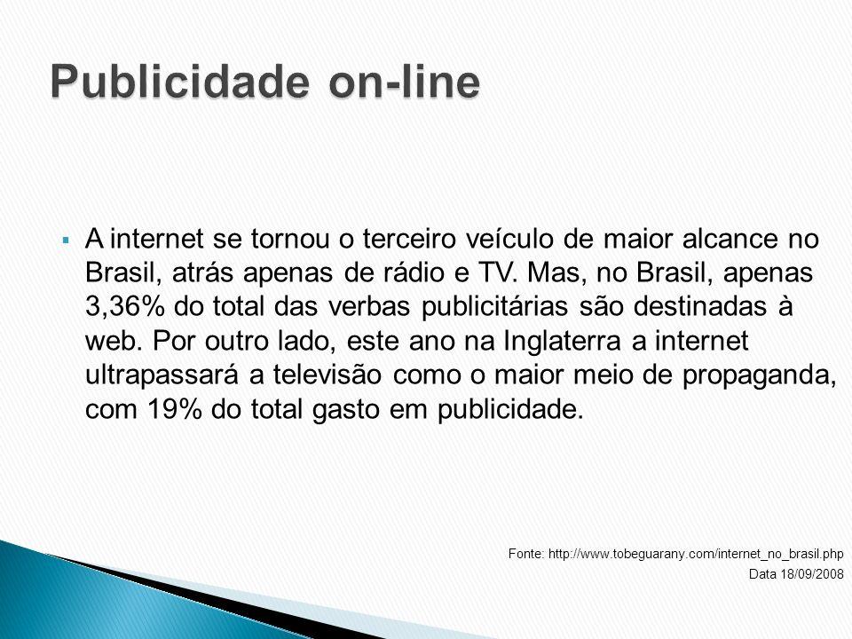 Publicidade on-line