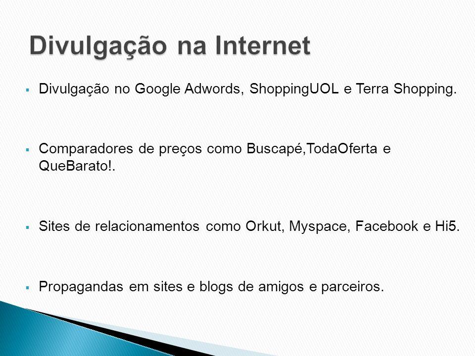 Divulgação na Internet