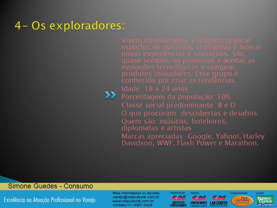 4- Os exploradores: