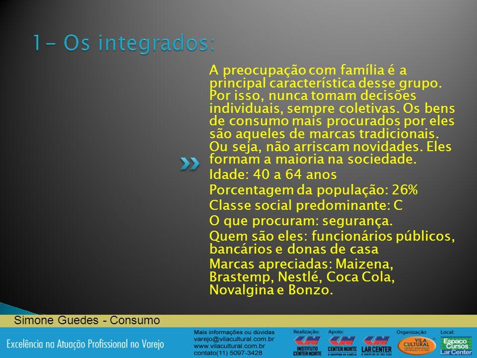 1- Os integrados: