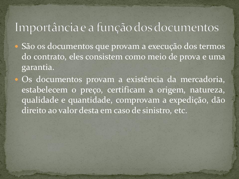 Importância e a função dos documentos