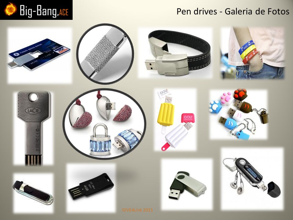Pen drives - Galeria de Fotos