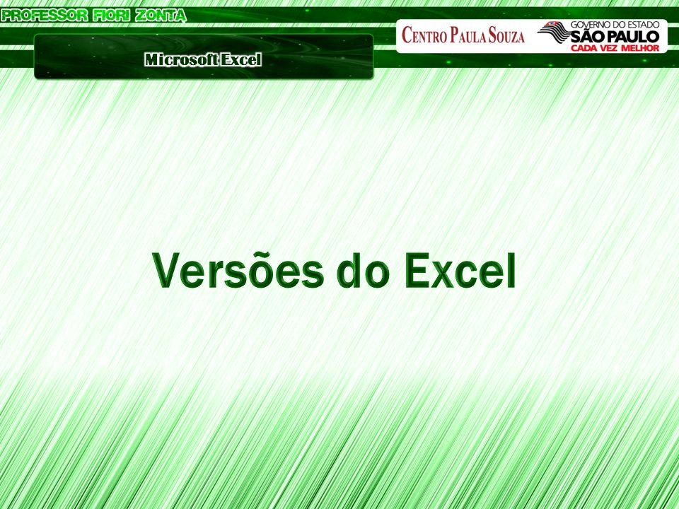 Versões do Excel