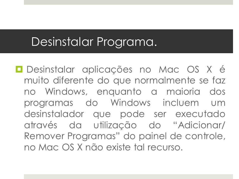 Desinstalar Programa.