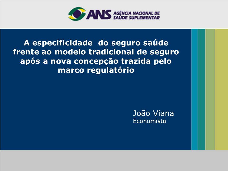 A especificidade do seguro saúde frente ao modelo tradicional de seguro após a nova concepção trazida pelo marco regulatório