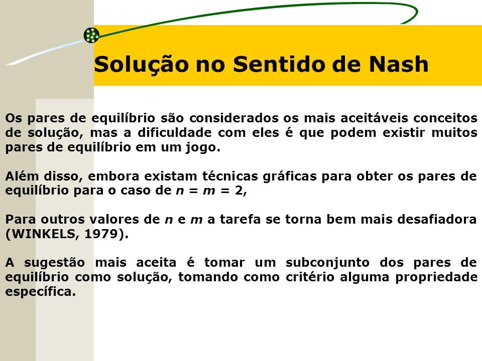 Solução no Sentido de Nash