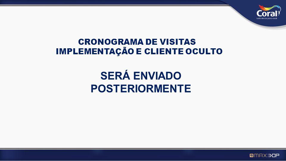 IMPLEMENTAÇÃO E CLIENTE OCULTO SERÁ ENVIADO POSTERIORMENTE