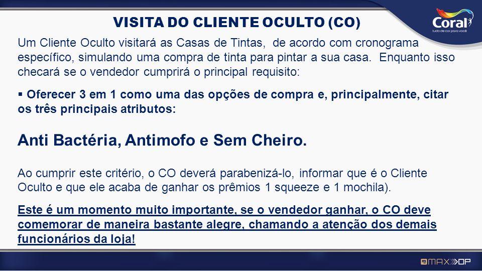 VISITA DO CLIENTE OCULTO (CO)