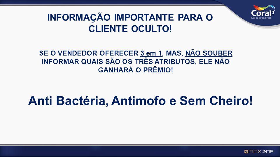 INFORMAÇÃO IMPORTANTE PARA O CLIENTE OCULTO!