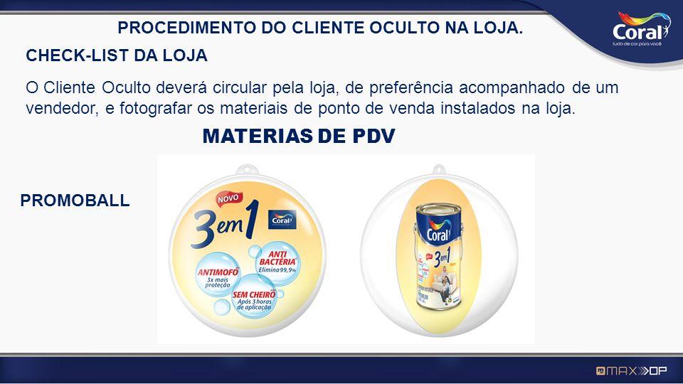 MATERIAS DE PDV PROCEDIMENTO DO CLIENTE OCULTO NA LOJA.