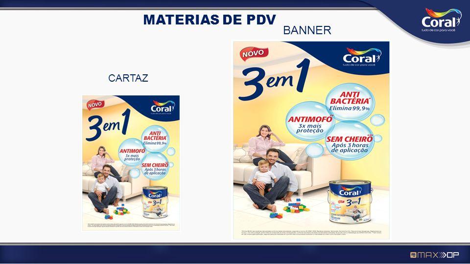 MATERIAS DE PDV BANNER CARTAZ