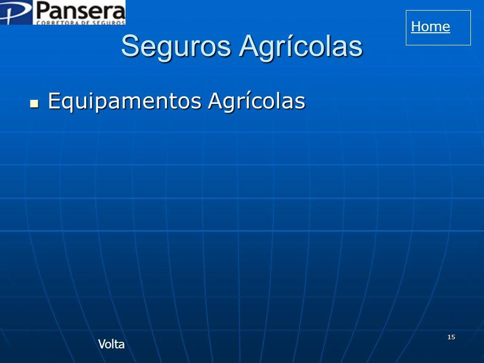 Home Seguros Agrícolas Equipamentos Agrícolas Volta
