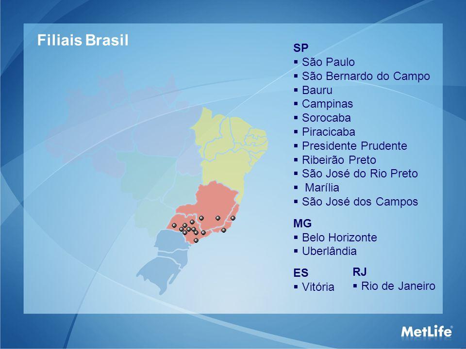 Filiais Brasil SP São Paulo São Bernardo do Campo Bauru Campinas