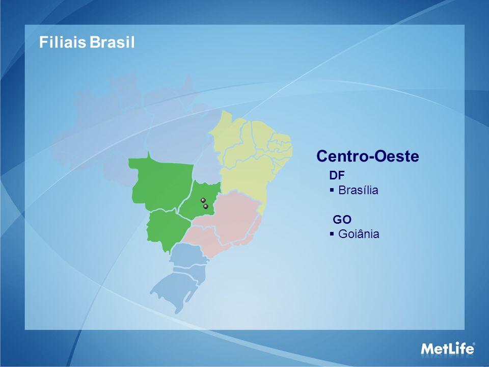Filiais Brasil Centro-Oeste DF Brasília GO Goiânia 14