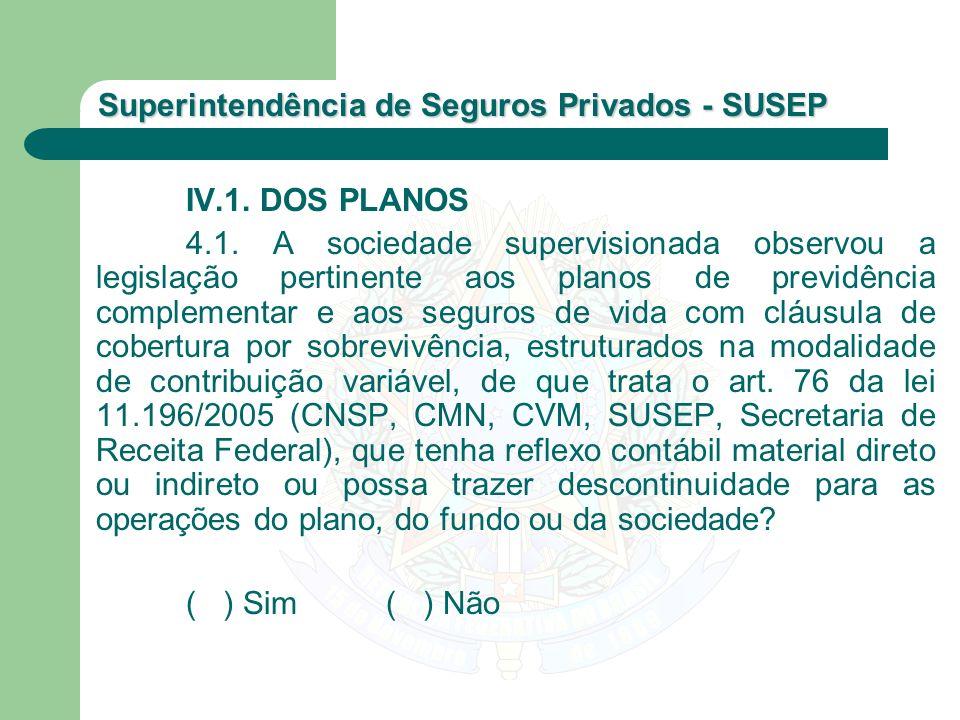 IV.1. DOS PLANOS
