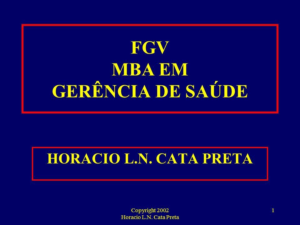 FGV MBA EM GERÊNCIA DE SAÚDE