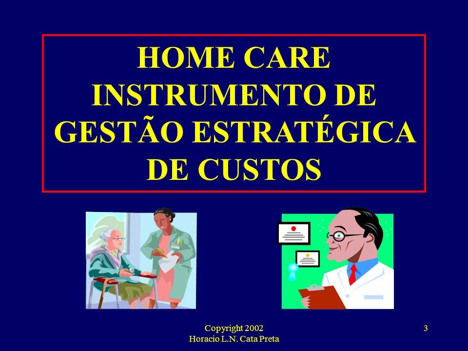 INSTRUMENTO DE GESTÃO ESTRATÉGICA DE CUSTOS