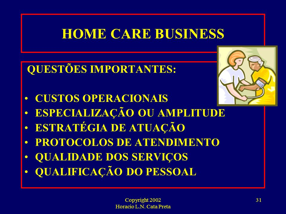 Copyright 2002 Horacio L.N. Cata Preta