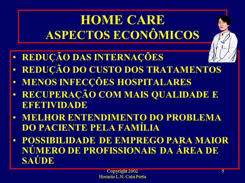 HOME CARE ASPECTOS ECONÔMICOS