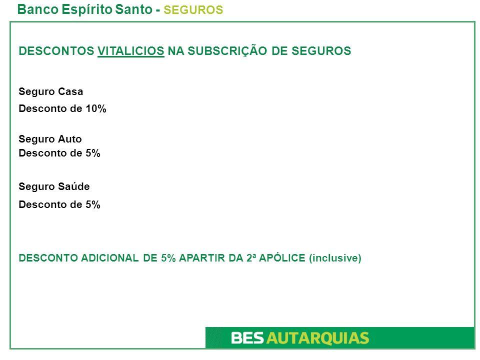 Banco Espírito Santo - SEGUROS