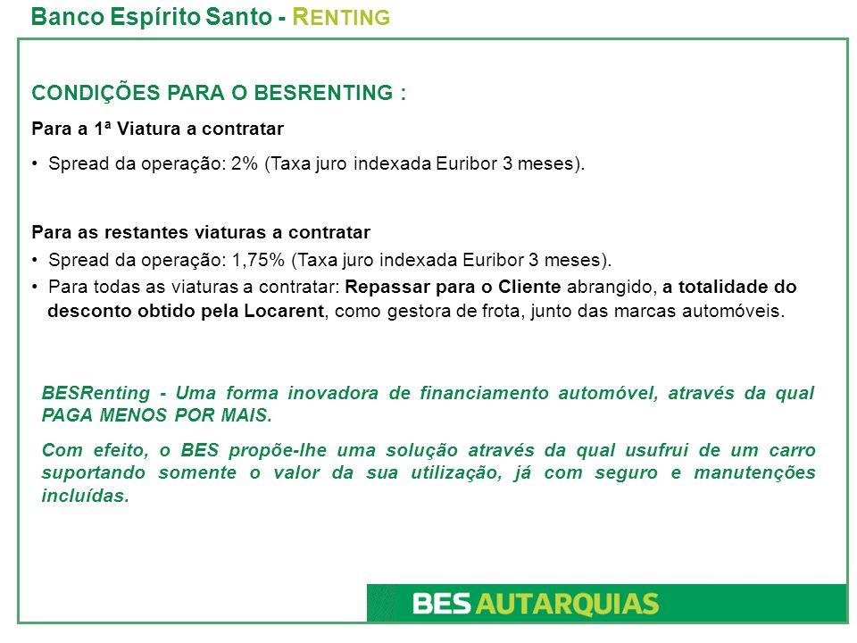 Banco Espírito Santo - RENTING