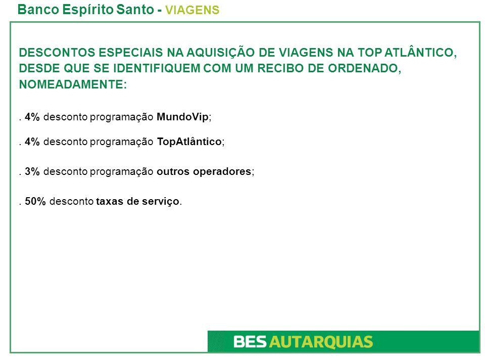 Banco Espírito Santo - VIAGENS