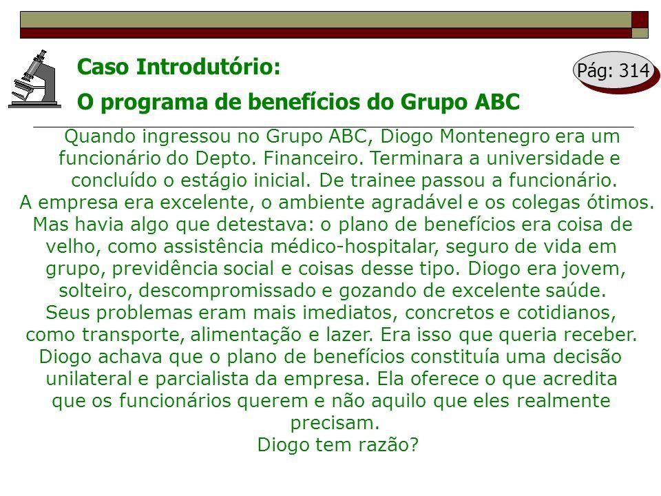 O programa de benefícios do Grupo ABC