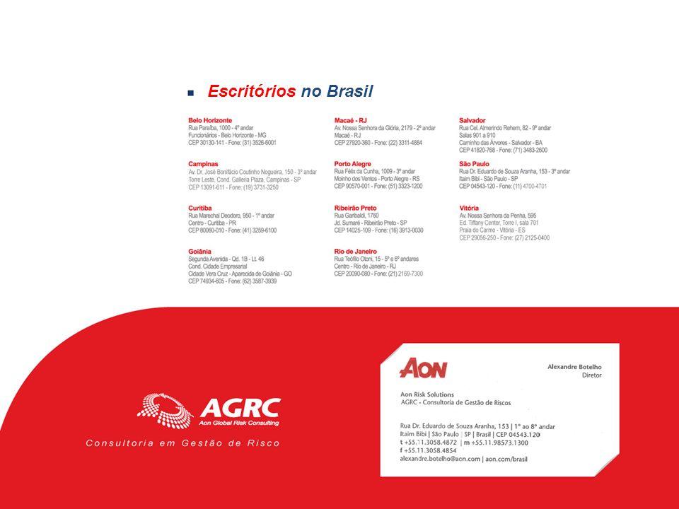 Escritórios no Brasil
