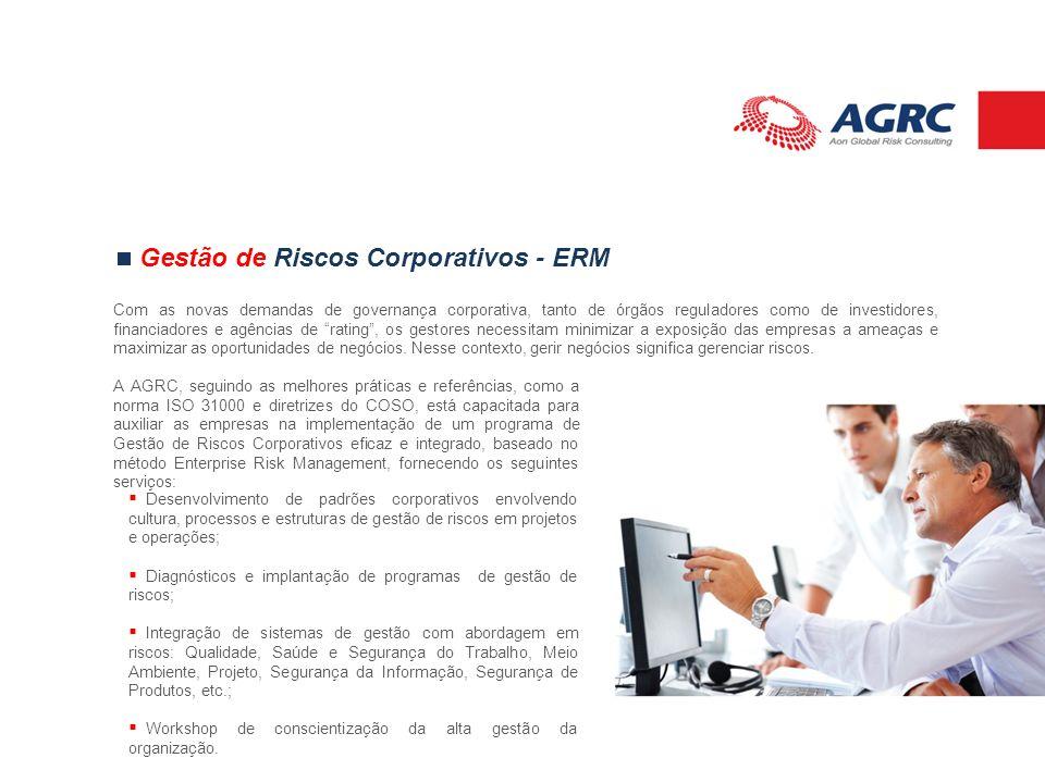Gestão de Riscos Corporativos - ERM