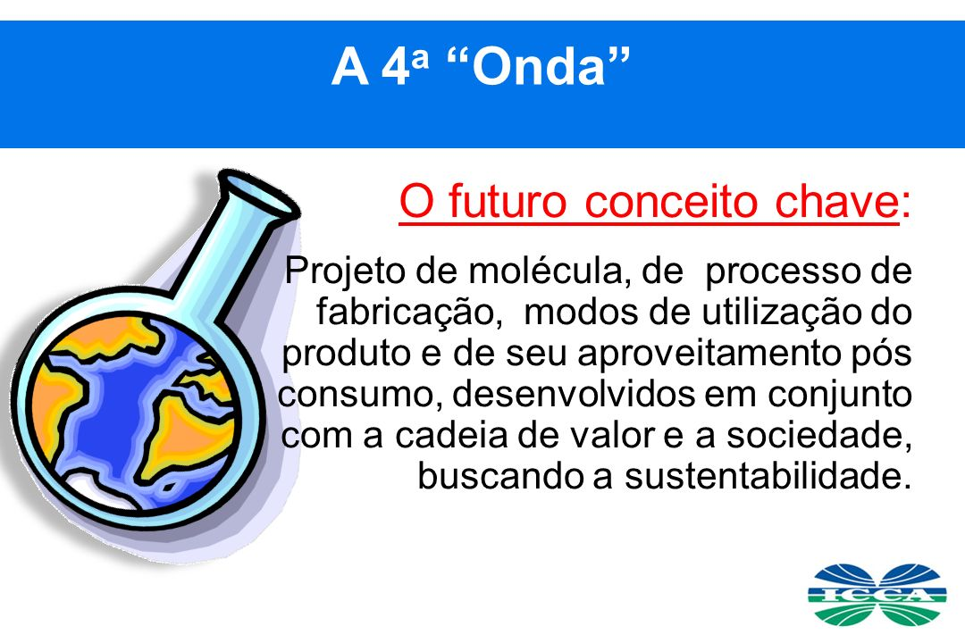 A 4a Onda O futuro conceito chave: